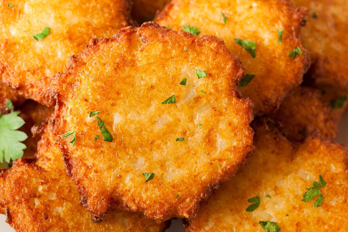 Our Greasy Little Secret! Chanukah Latkes Recipe from The Selfhelp Home