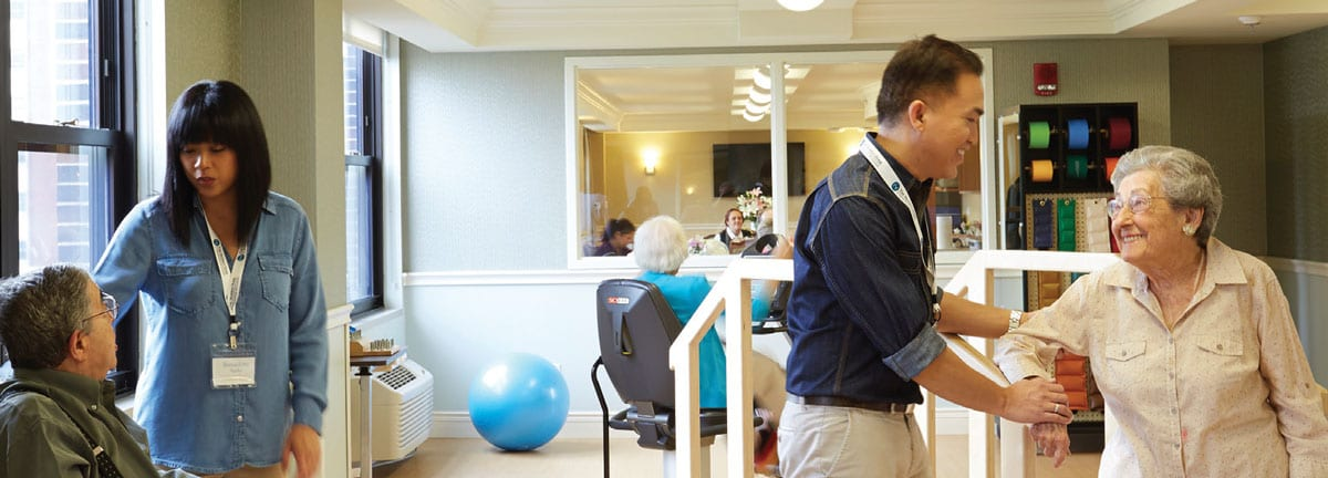 The Selfhelp Home - Short-term Rehabilitation - Specialized rehabilitation programs to support your recovery