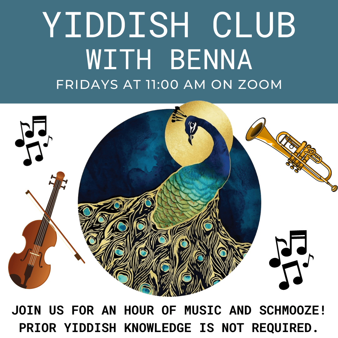 Yiddish Club with Benna - The Selfhelp Home