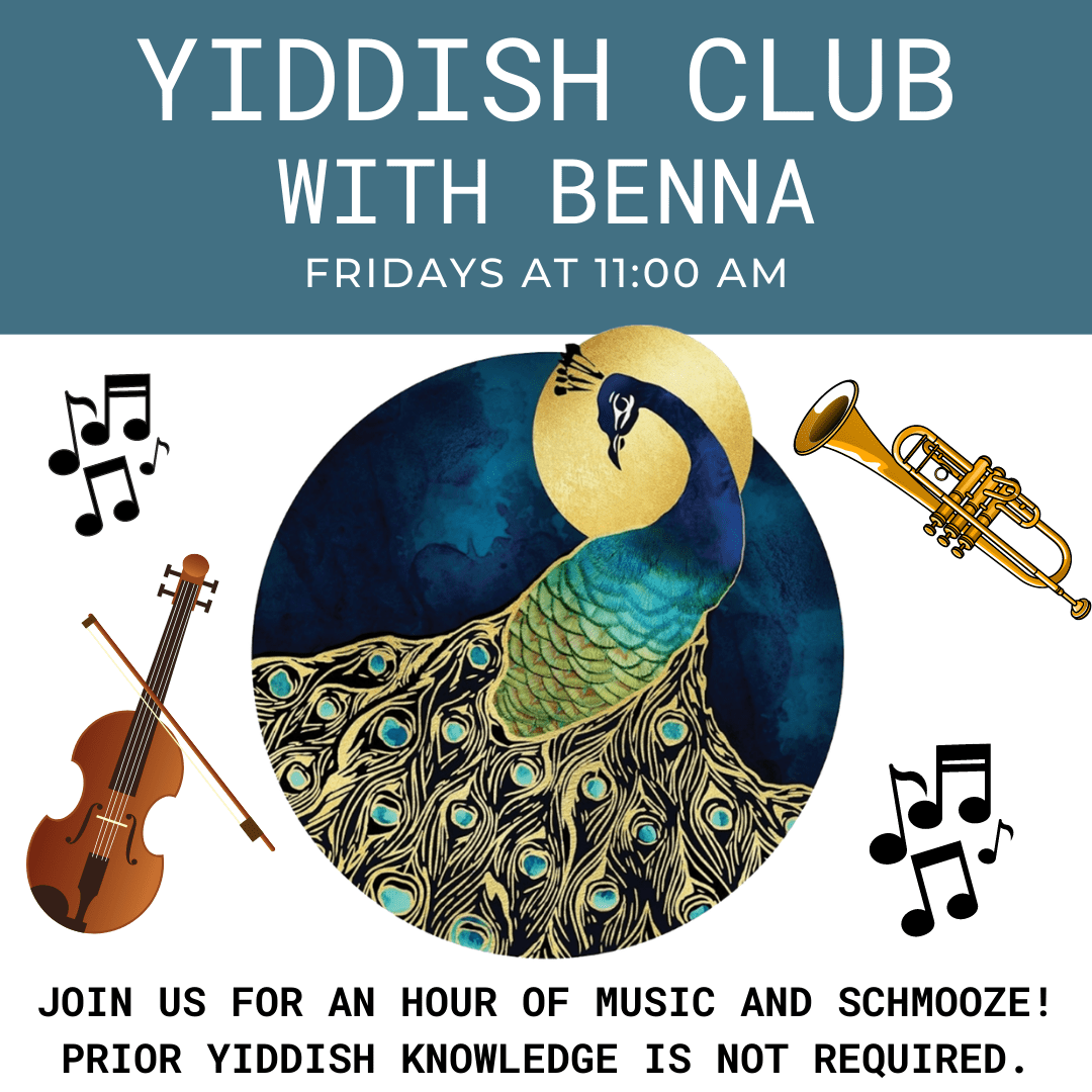 Yiddish Club with Benna