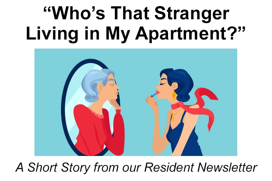 """""""Who's That Stranger Living in My Apartment?"""" - The Selfhelp Home"""