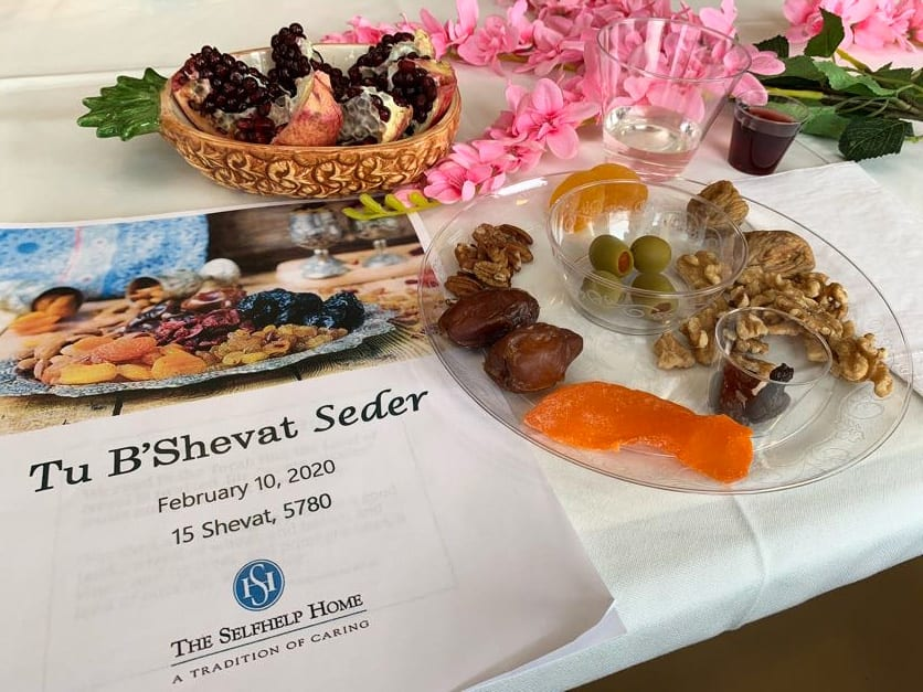 Celebrating Tu B'Shevat at The Selfhelp Home