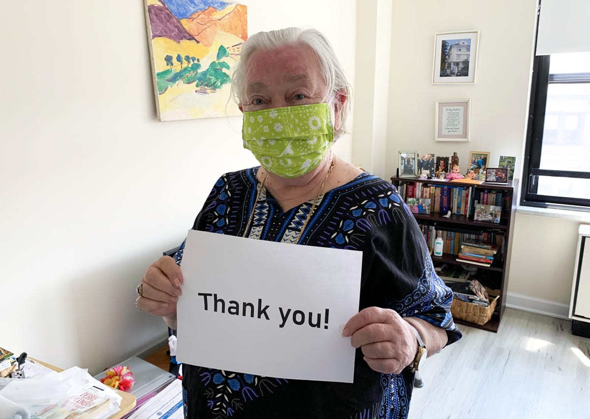 With Gratitude for Our December Donors - The Selfhelp Home