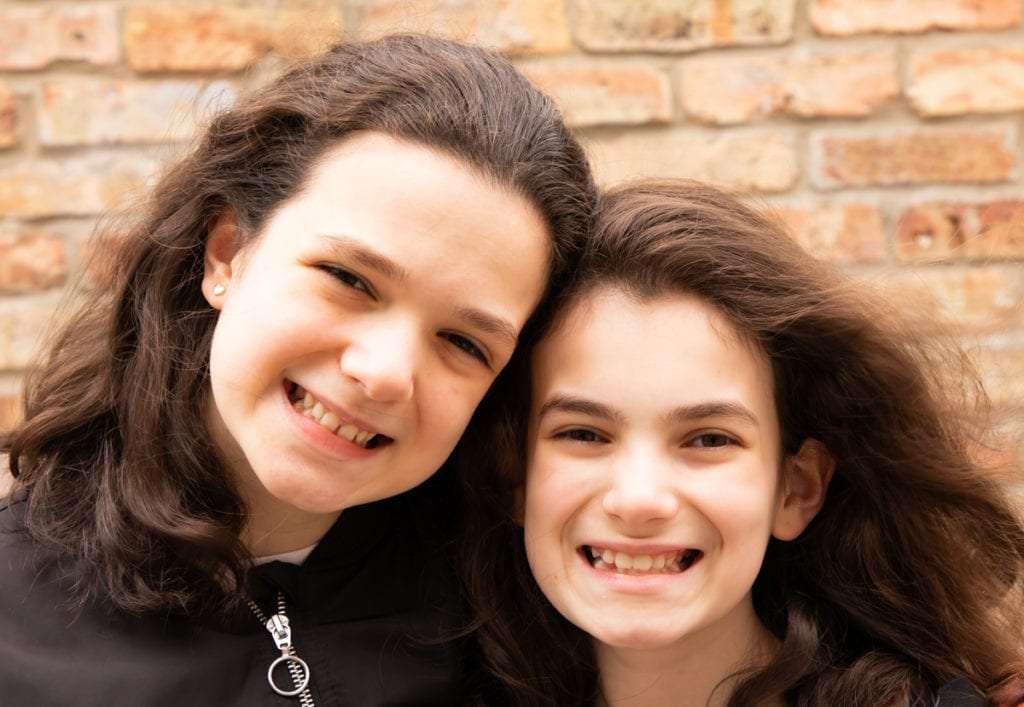 Mitzvah Mensches: Emma and Fabi V. from Anshe Emet Synagogue - The Selfhelp Home