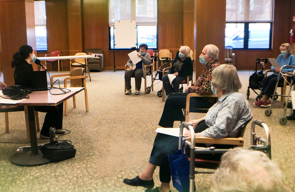Selfhelp's Yiddish Music Class Sings to the Soul - The Selfhelp Home