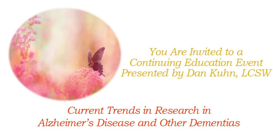 Current Trends in Research in Alzheimer's Disease and Other Dementias - The Selfhelp Home