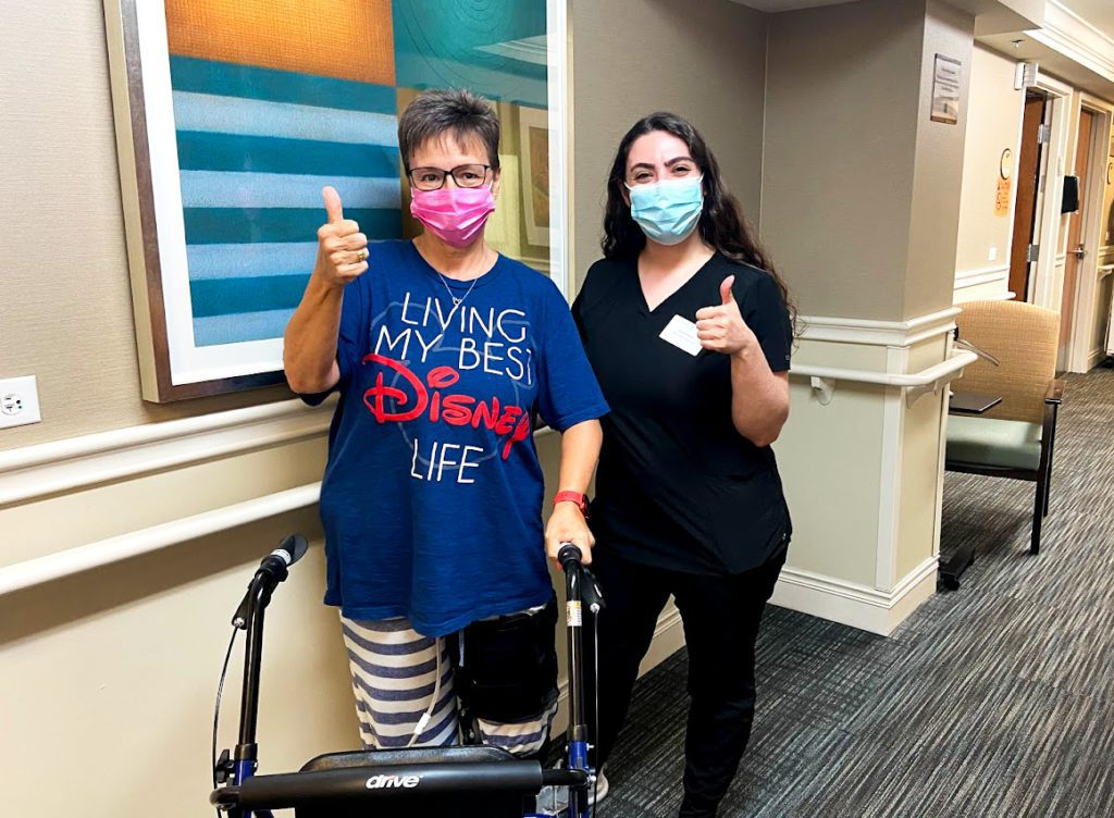 Rehab Rock Star: Julie's Orthopedic Recovery at The Selfhelp Home